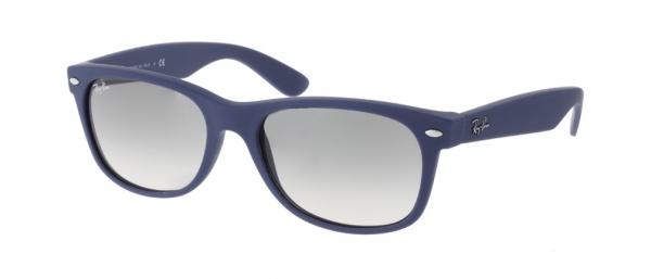 Солнцезащитные очки Ray-Ban Wayfarer. Матовый синий теперь в моде 4e9f015af58