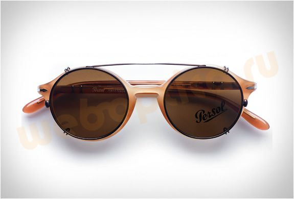 Солнцезащитные очки Persol Clip-On 2012 c3924ea1314d8