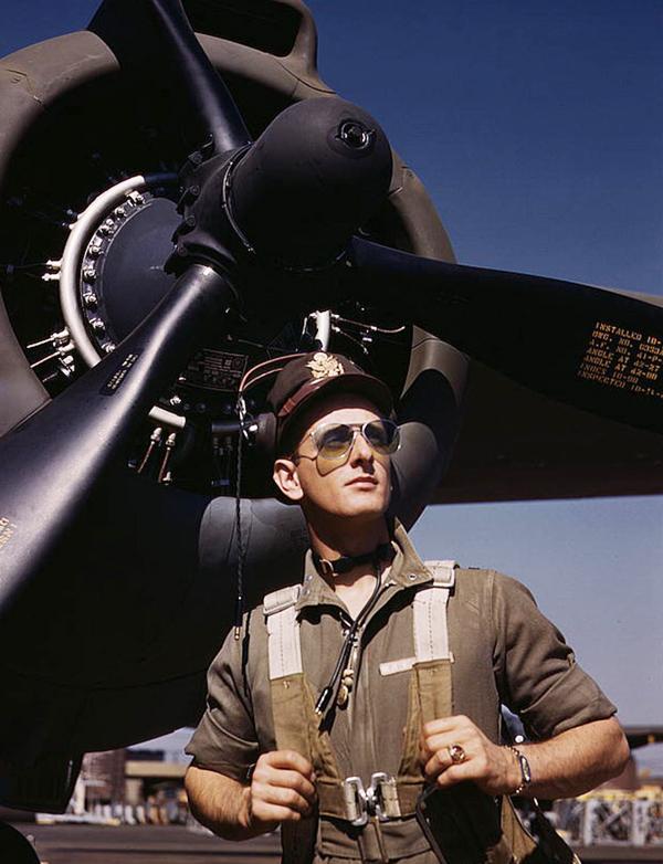Первые солнцезащитные очки авиаторы Ray-Ban. 1940-е г.г.