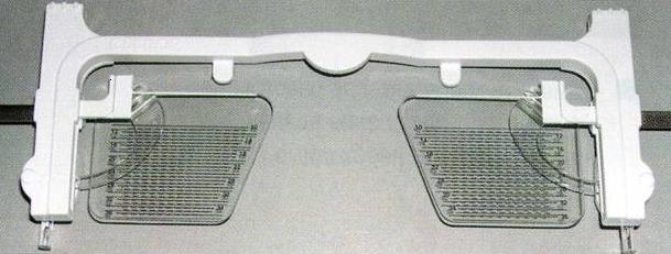 Essilor предлагает специальное приспособление для определения положения зрачка по высоте
